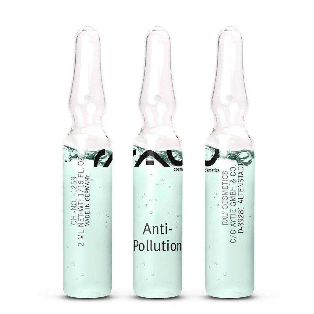 RAU Anti-Pollution Ampoules 3 piec x 2ml